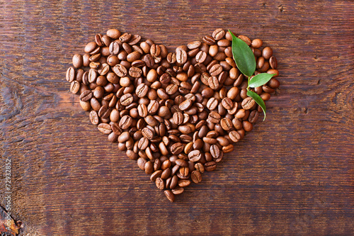 сердце кофе зерна без смс