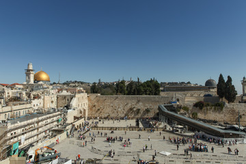 The Wailing wall - Jerusalem Israel
