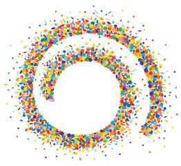 Confetti spirale