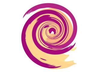 Foto op Canvas Spiraal spirale colorata