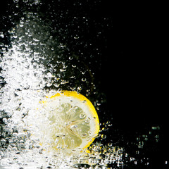 Fresh lemon splash
