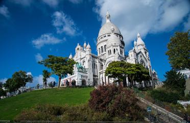 La Basilique du Sacré Cœur de Montmartre in Paris, France