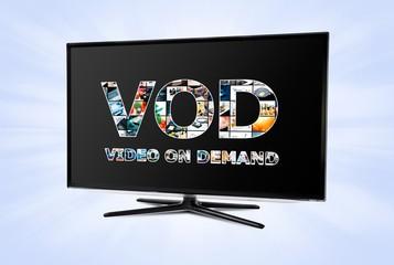 Video on demand VOD service on smart TV