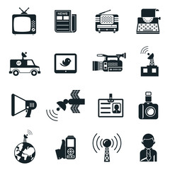 News and Media Icons
