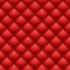 Deurstickers Leder seamless leather upholstery