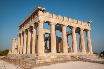 Afaia Temple, Aegina, Saronic Gulf, Greece