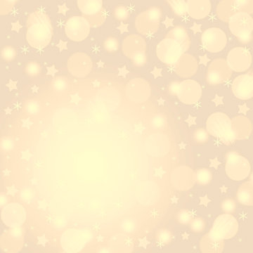 Yellow starburst background
