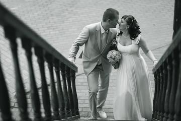 wedding photo monochrome black and white