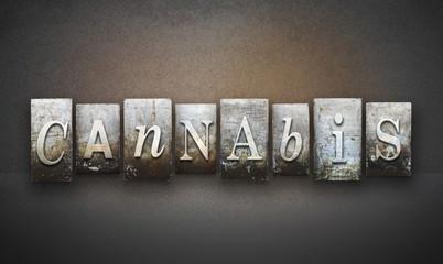 Cannabis Letterpress