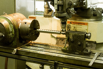 CNC drilling and milling