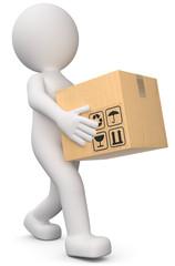paket verpacken mit packpapier
