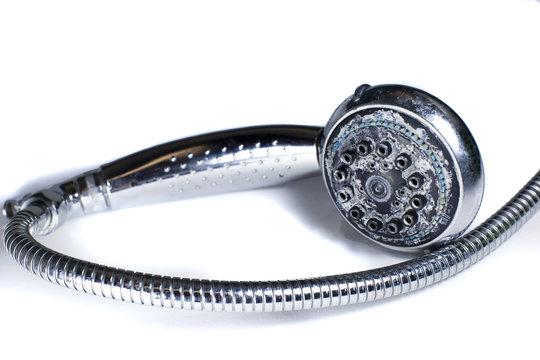 Kalk Verkalkung Duschkopf Wasserhärte