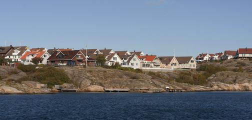 Swedish coastal village