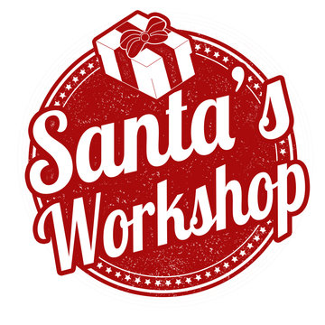 Santa's Workshop stamp