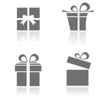 Iconos regalos serie