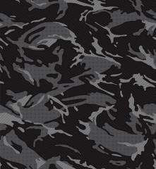 Black midnight camouflage pattern seamless