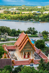 thai temple landscape