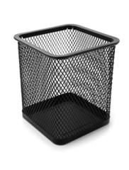 metallic basket