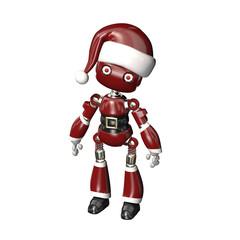 Robot in Santa Hat