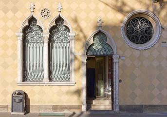Historic Palace Facade