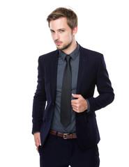 Caucasian Business man portrait