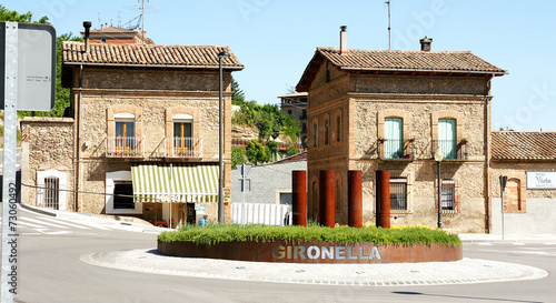 Edificio de estilo modernista en el barrio de El Clot