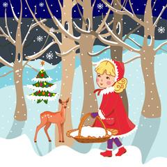 Fototapeta Boże Narodzenie - bajka obraz