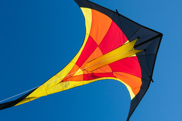 Kite with blue sky