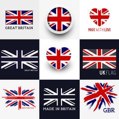 Union Jack UK Flags