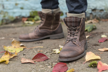 shabby boots