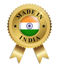 Made in India (Gold)
