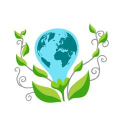 Business man Eco Earth