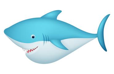 Cute shark character