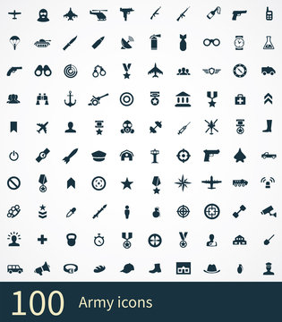 100 army icon