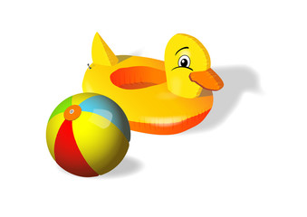 canard ballon