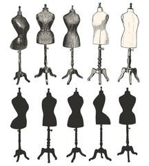 Bustes de couture