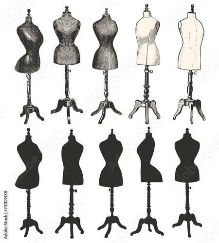bustes de couture fichier vectoriel libre de droits sur la banque d 39 images image. Black Bedroom Furniture Sets. Home Design Ideas
