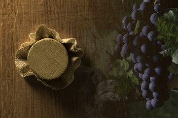 Oak barrel - Wine barrel