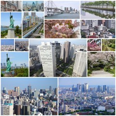 Japan - photo collage