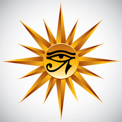 The eye of Ra.