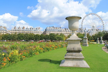 Jardin des Tuileries à Paris, France