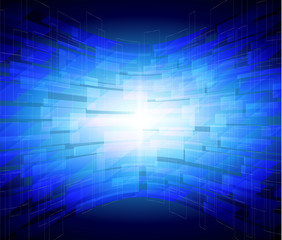 Blue technology Background Abstract