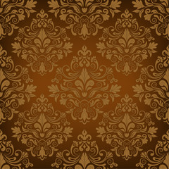 Seamless luxurious wallpaper