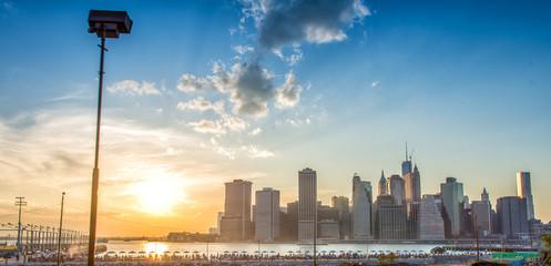 Manhattan skyline with East River - New York