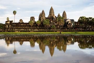 Angkor Wat top corner for photograper