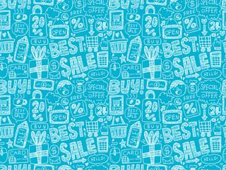 doodle business pattern