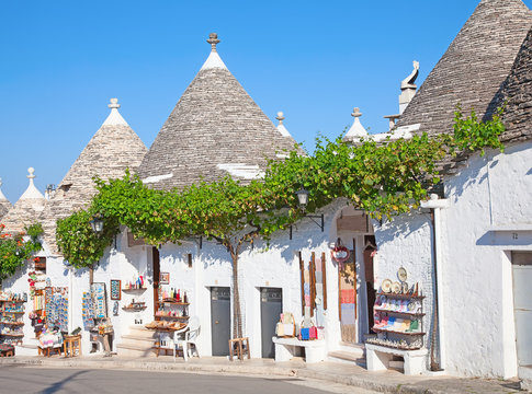 """Traditional """"Trulli"""" houses"""