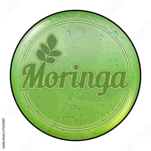 Bg9 Buttongrafik Moringa Blatter Button Retrodrops G2547