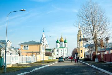 Успенский Кафедральный собор и Соборная колокольня.  Коломна