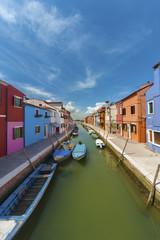 Fototapete - Burano island, Venice, Italy.